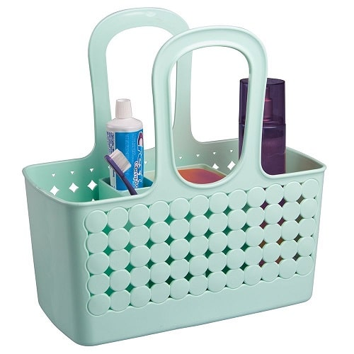 Shower Organizer Caddy. College survival kit. Off to college gift ideas for girls.