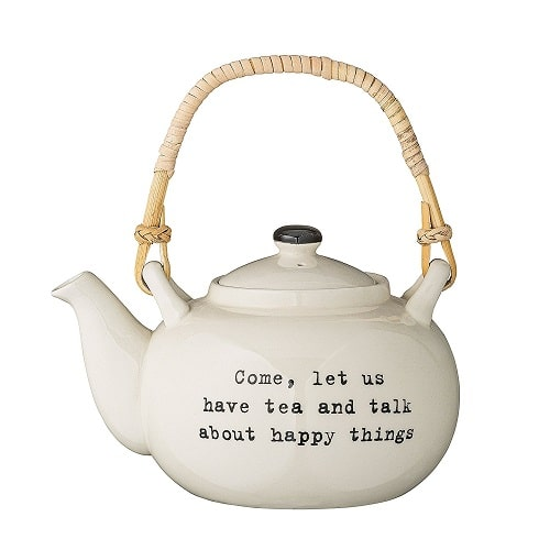 Happy Things Teapot - best wedding gifts for bride and groom