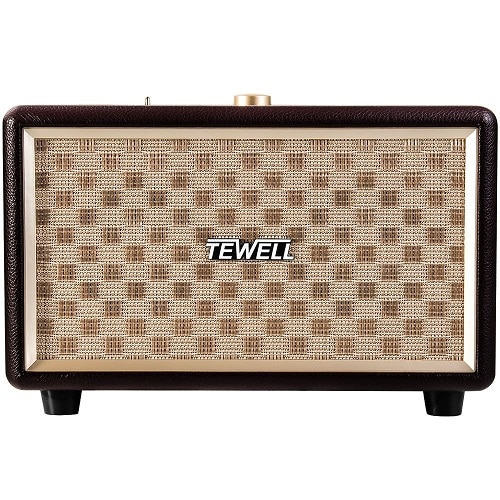 TEWELL Retrorock Classic Stereo Speaker - best wedding gifts for bride and groom