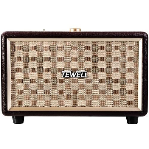 TEWELL Retrorock Classic Stereo Speaker - best wedding gifts for bride and groom
