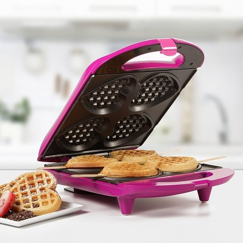 Heart Waffle Maker - best wedding gifts for bride and groom