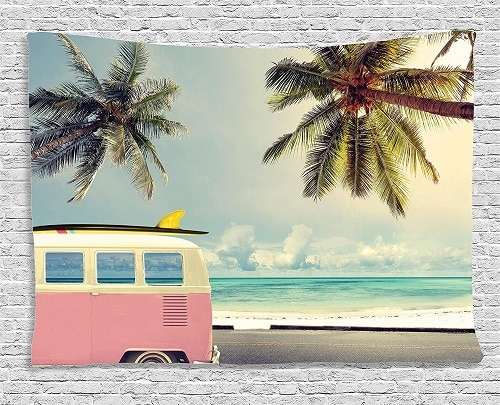 Beach Fun Tapestry. Dorm room decor ideas.