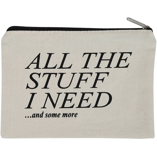 Stuff I Need Zipper Pouch - Back to school essentials for teens