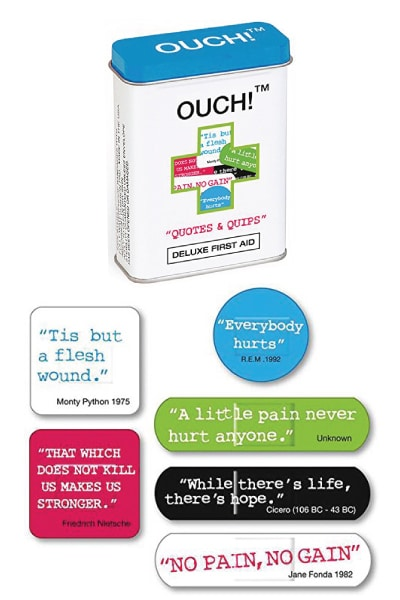 Ouch Quotes Bandages- Back to school essentials for tweens. Back to school supplies for teens.
