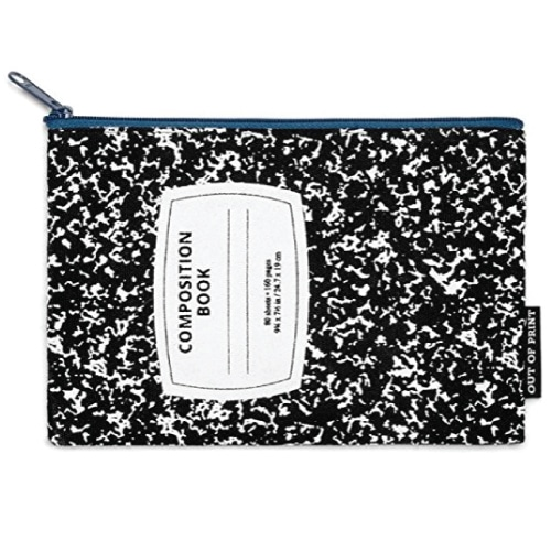 Composition Notebook Pouch. Teacher outfits ideas. Back to school gifts for teachers.