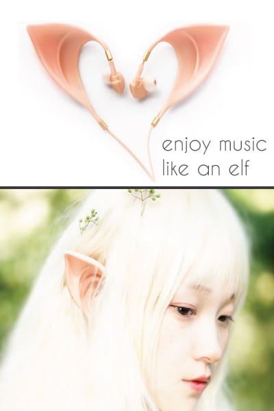 Elf Earbuds Headphones - Back to school supplies for teen girls highschool