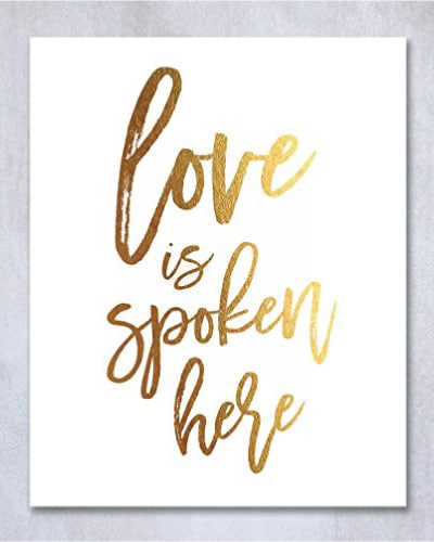 Love Quotes Home Decor - best wedding gift ideas for bride and groom