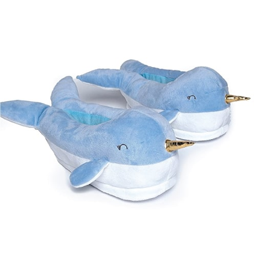 Narwhal Light Up Slipper. Going to college supplies. Dorm room ideas.
