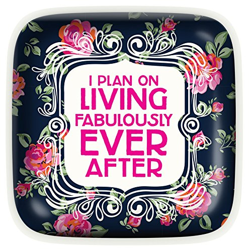 Living Fabulously Ever After Trinket Dish. Gifts for grandma.