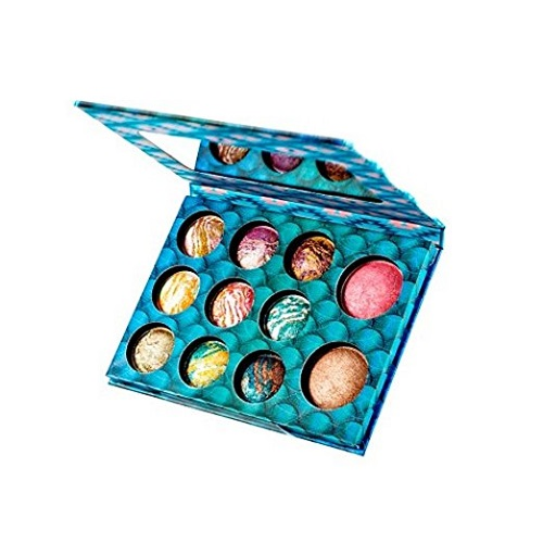 Wild & Alluring Baked Eyeshadow & Highlighter Palette. Christmas gifts for teen girls.