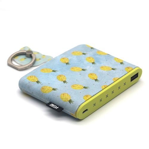 Pineapple Pocket Phone Charger. Tech gadget gifts. Christmas gifts for teen girls.