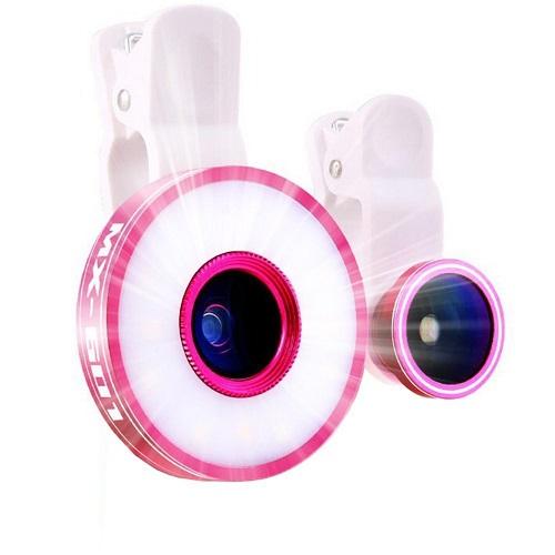 Selfie Light and Lens