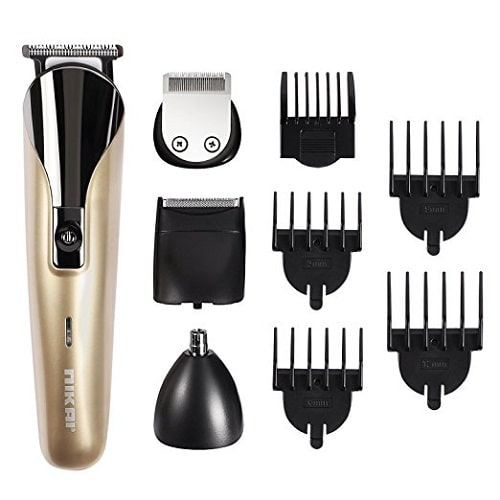 Gold Men's Grooming Kit. Grandparents Day gifts for grandpa.