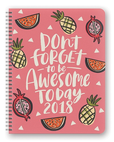 Be Awesome Today Flexi Planner (Small Christmas gifts for teens)