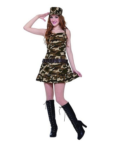 Army Cadet. Teen costume ideas.