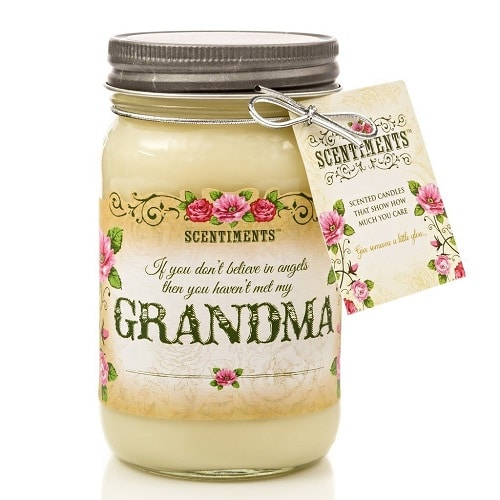 Scentiments Grandma Gift Candle