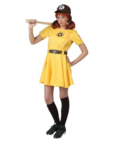 A League of Their OwnBaseball Player Costume- Halloween costume ideas for teens