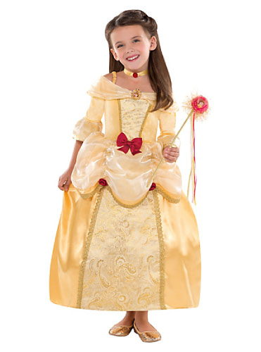 belle beauty and the beast tween girl costume halloween
