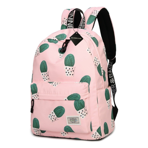 Cactus School Bag. School supplies. Teen fashion school. Teen gifts for Christmas.