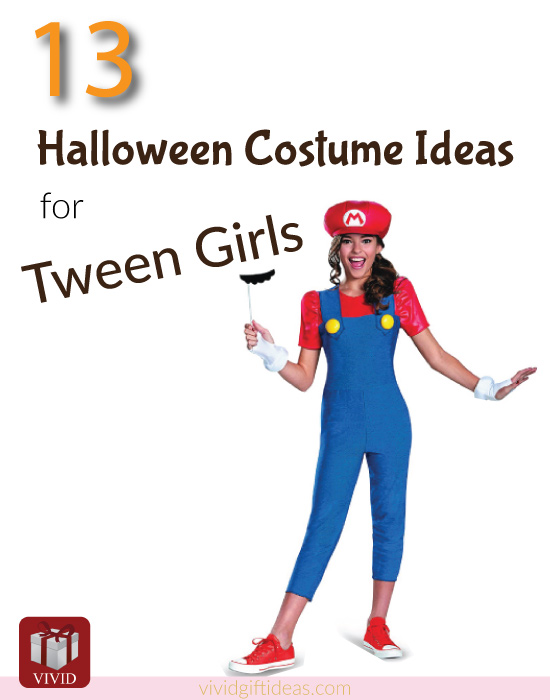 Halloween Costumes Ideas For Tweens