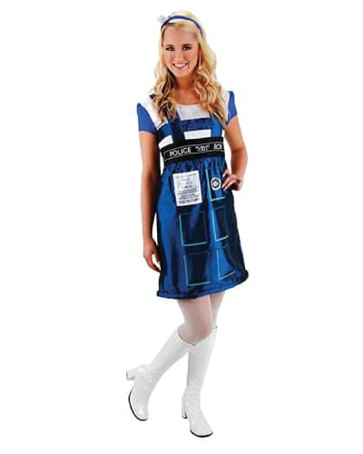 Dr. Who Tardis Dress (Halloween costume ideas for teens)