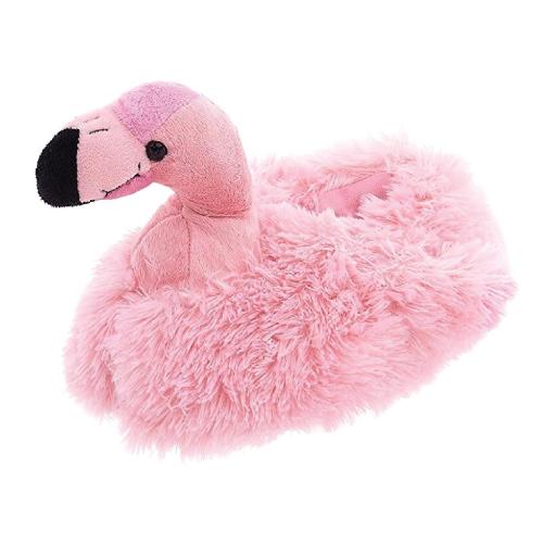 Flamingo Plush Slippers
