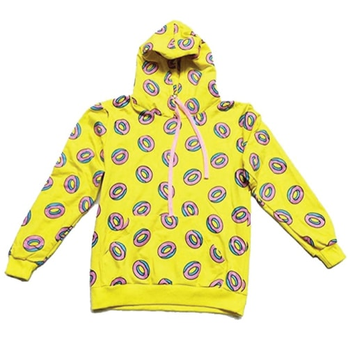 K-pop GOT7 Donut Sweatshirt. Fall outfits for teens. Sweater outfits.