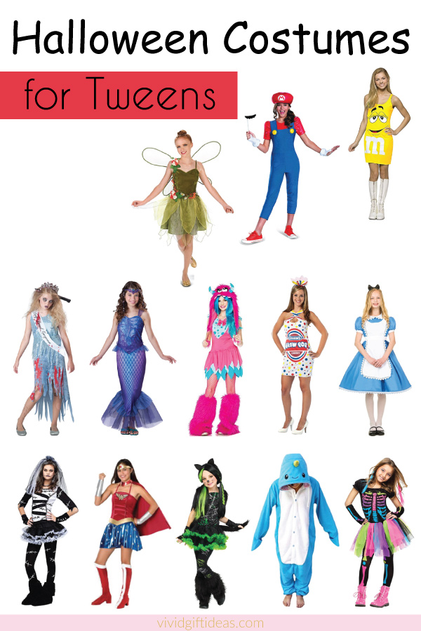 Halloween costumes for tweens