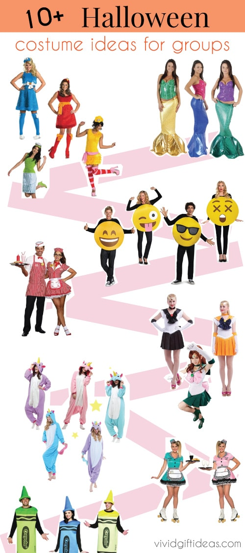 Halloween Group Costumes For Friends