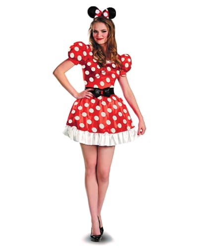 Minnie Mouse Teen Costume for Halloween