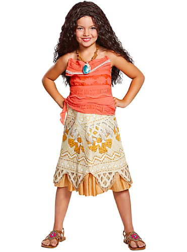 moana - tween girl costume - disney