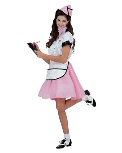50s Soda Pop Girl Costume (Halloween costume ideas for teens)