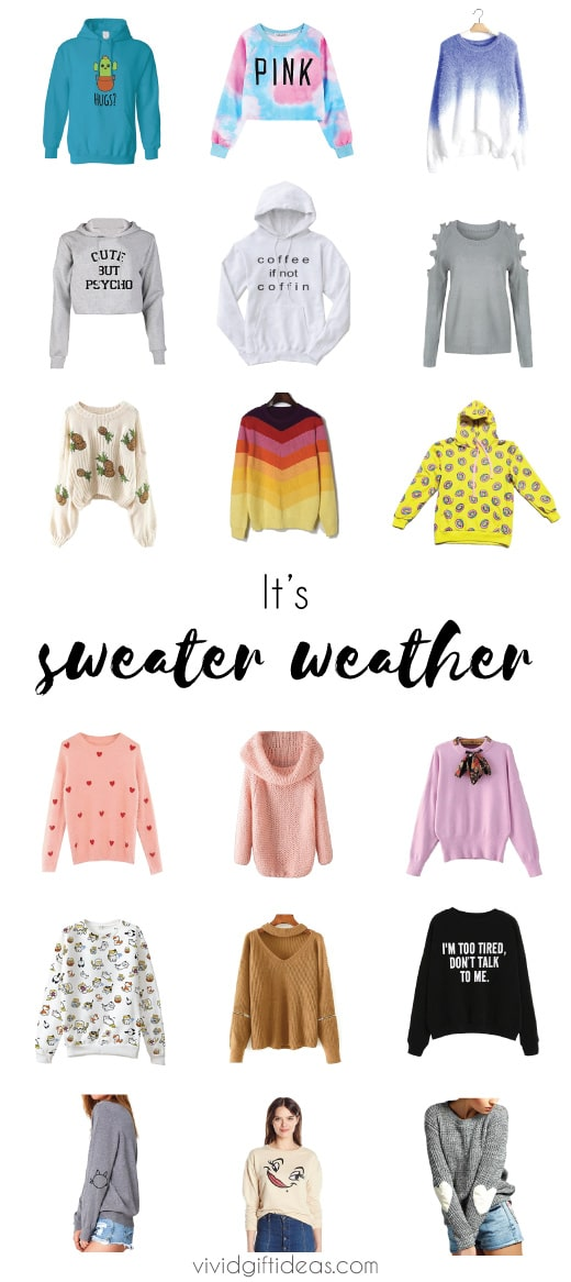 Sweater Weather. Fall Outfits For Women. Sweater outfits for teens, 20s.