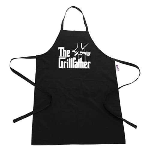 The Grillfather Apron. Funny grandpa gifts.