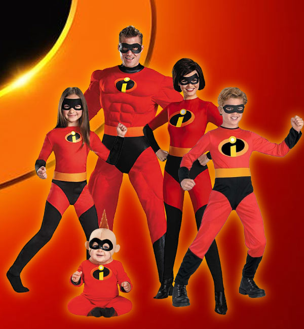 the incredibles family Halloween costume ideas