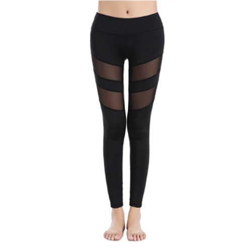 Yoga Workout Pants with Mesh (Christmas gifts for teens)