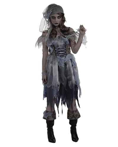 Caribbean Ghost  Girl. Teen costume ideas.