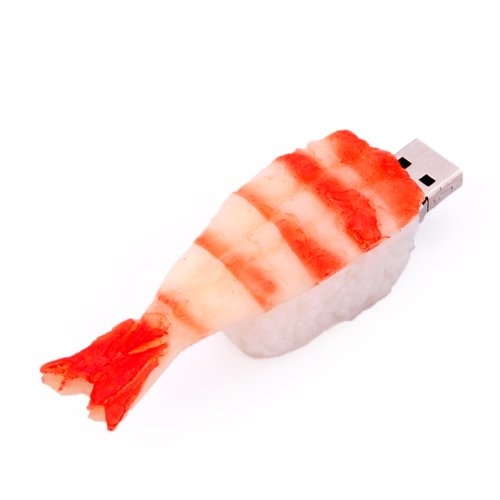 Sushi USB Flash Drive. Tech gifts. Stocking stuffer ideas for teens.