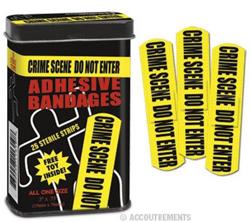 Crime Scene Bandages. Stocking stuffer ideas for teens. Christmas gifts for teen boys.