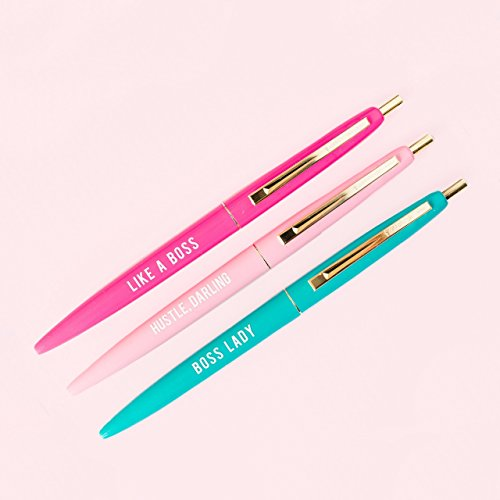 Boss Lady Pen Set. Boss Day gift ideas for women.