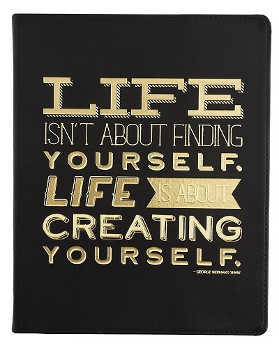 Life is Creating YourselfJournal (Stocking stuffer ideas for teens)