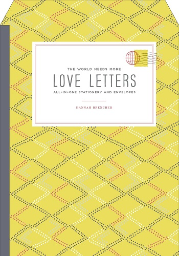 The World Needs More Love Letters Stationery Set (Long distance relationship gift ideas)