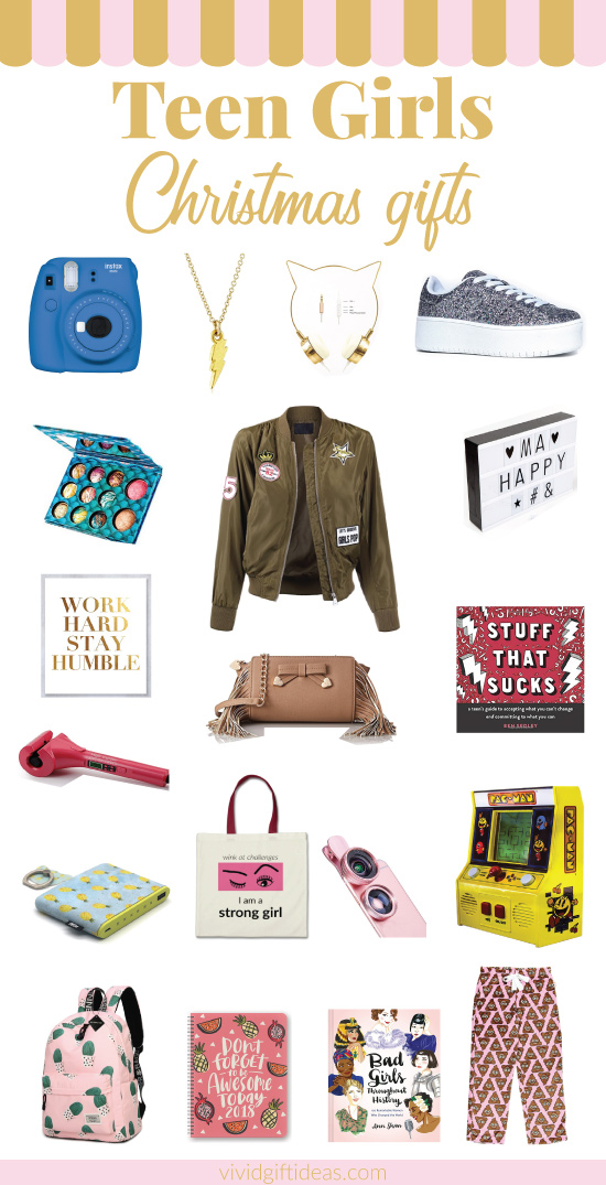 20+ Trendy Christmas Gifts for Teenage Girls