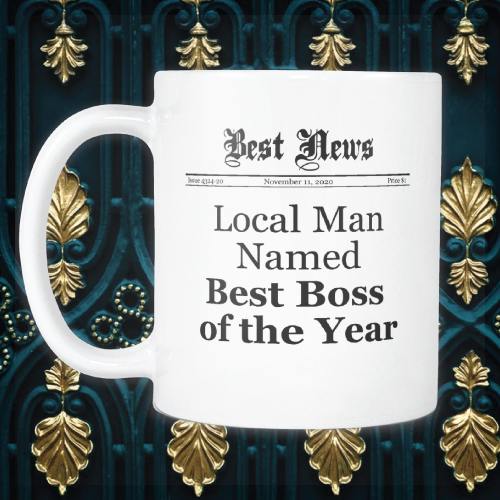 Best Boss of the Year Mug