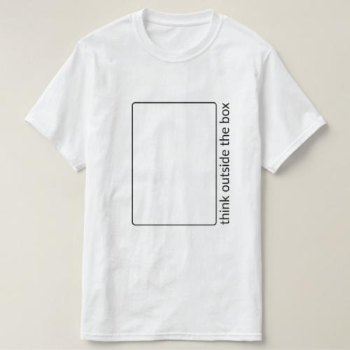 Think Outside The Box Shirt. Teen guys fashion swag. Christmas gifts for teen boys.