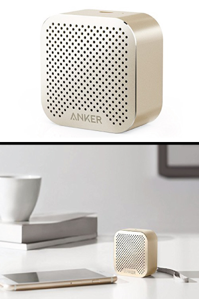 Anker SoundCore nano Bluetooth Speaker. Tech gifts for men. Holiday trends 2017. Christmas gifts for long distance boyfriend