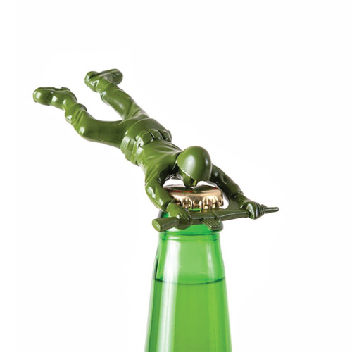 Army Man Bottle Opener (Stocking stuffer ideas for men)