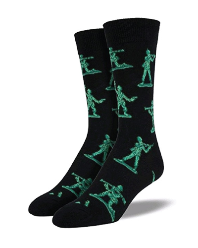 Army Men Socks (Stocking stuffers for him)