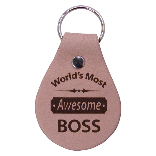 World's Most Awesome Boss Key Chain (Boss Day gift ideas)