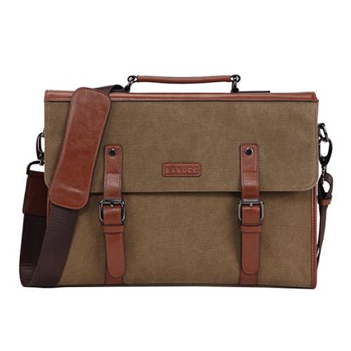 Banuce Men's Vintage Messenger Bag